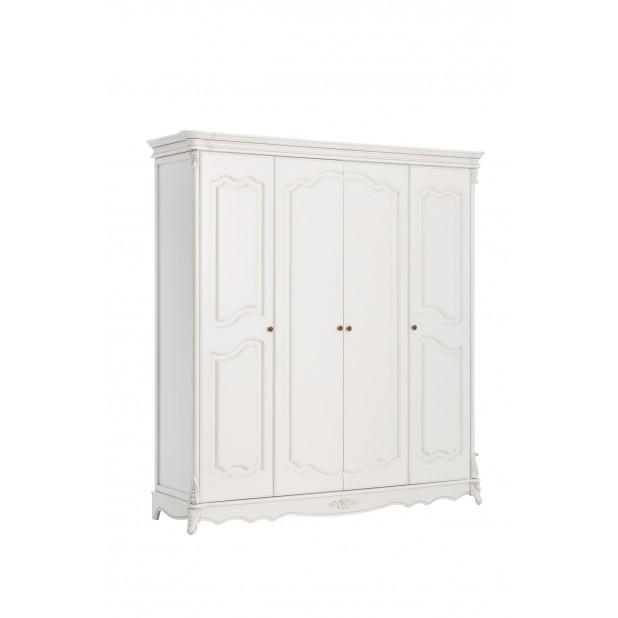 Adel шкаф 4-х дверный без зеркал